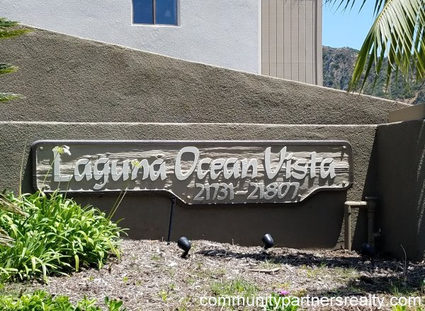 Laguna Ocean Vista Laguna Beach Community Partners Realty