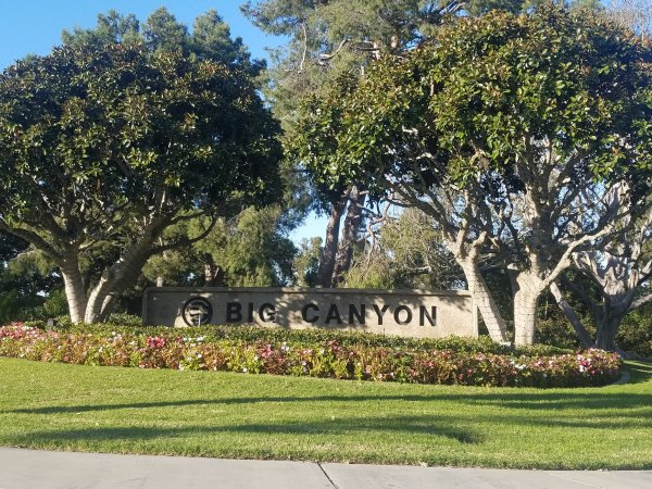 Big Canyon Newport Beach