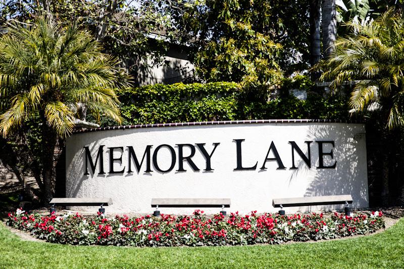 Memory Lane Aliso Viejo